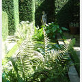 Promenade dans les jardins du botrain