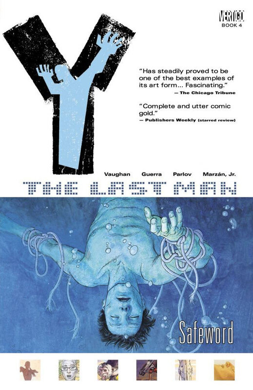 vertigo Y the last man vol 04 safeword TPB