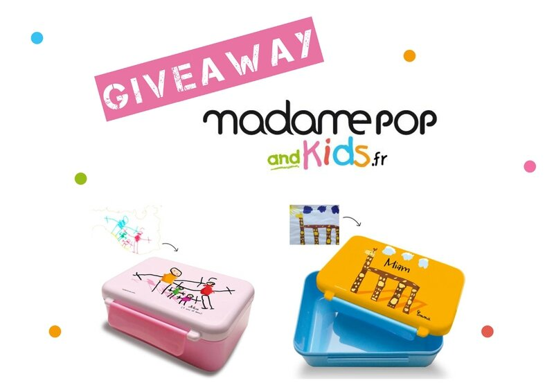 Giveaway Madame Pop And Kids