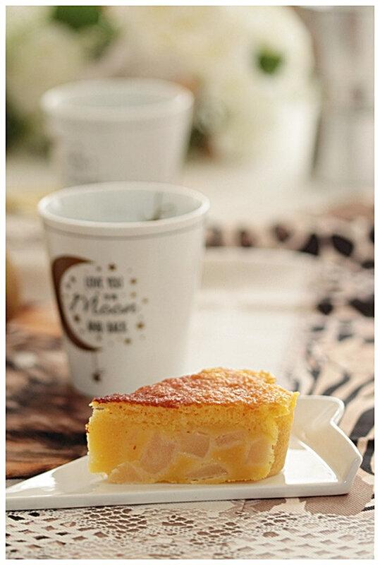 gâteau-omnicuiseur-poire-basse température-vapeur-dessert-cake