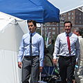 White Collar film Set, July 12th