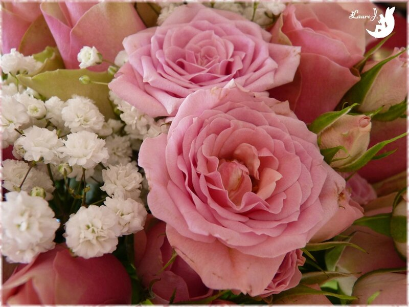 bouquet roses Maman 4