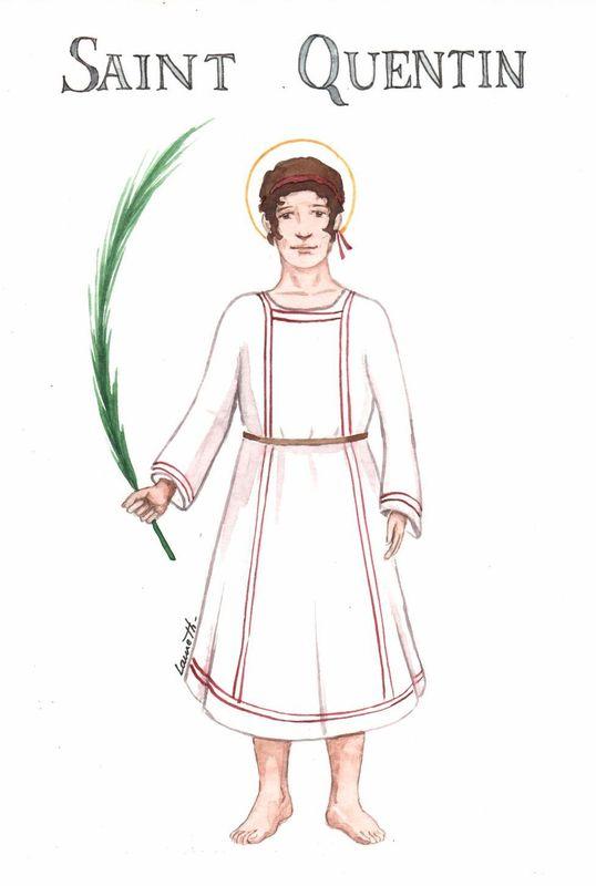 saint Quentin, martyr