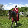 balade à cheval médiévale - Abbaye de Hambye (253)