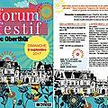 Dimanche 3 septembre - la section escrime sera au parc oberthür