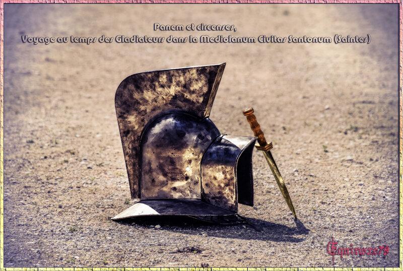 Panem et circenses, voyage au temps des Gladiateurs dans la Mediolanum Civitas Santonum (Saintes)
