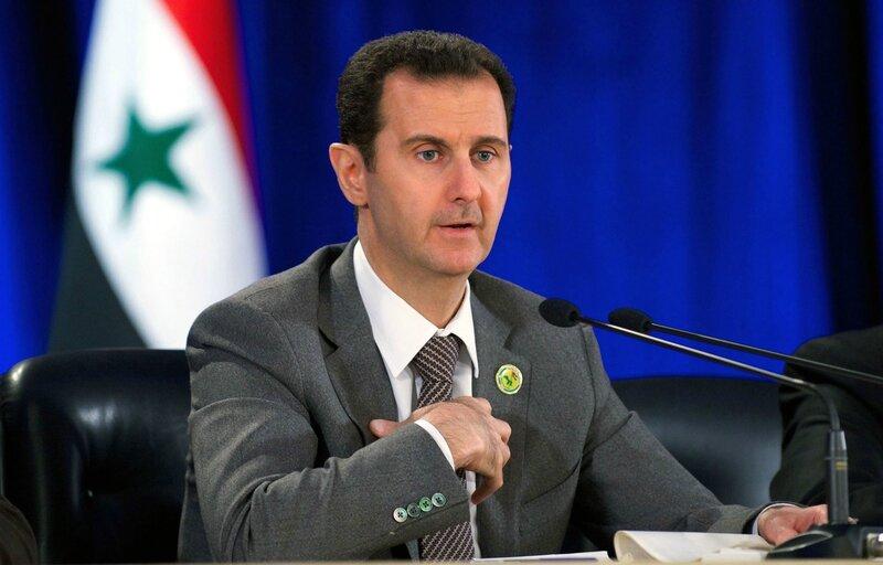 Le-president-syrien-Bachar-el-Assad-ici-en-mars-2014