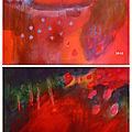 Vide-atelier: toiles 80x60 cm