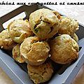 Bouchées aux courgettes et cansalade