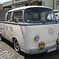 Volkswagen combi type 2 doka double cabine pick up