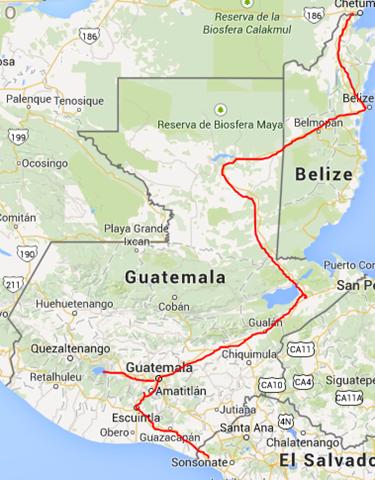 Capture Guatemala Belize