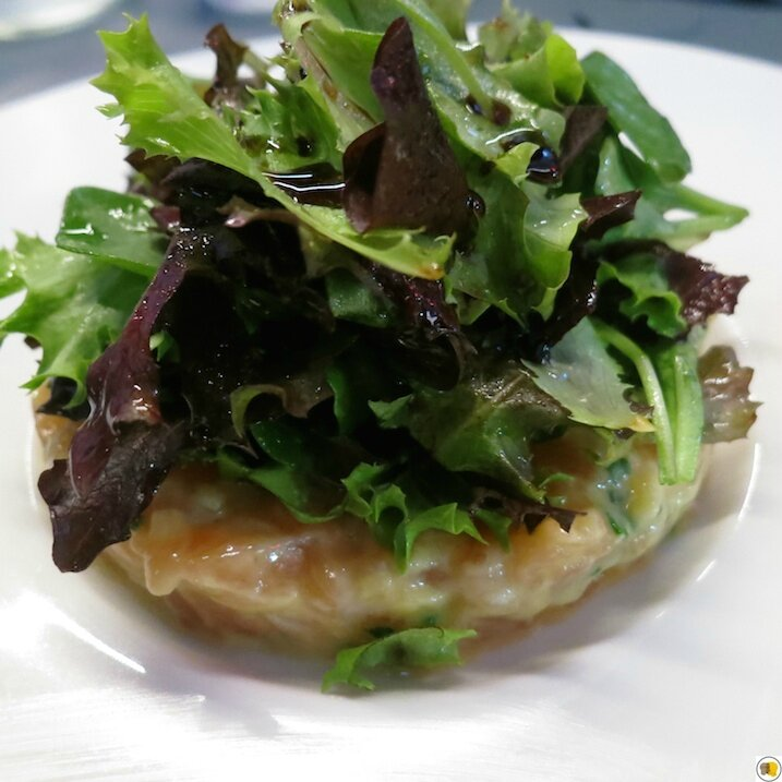 Tartare de saumon et involtini (2)