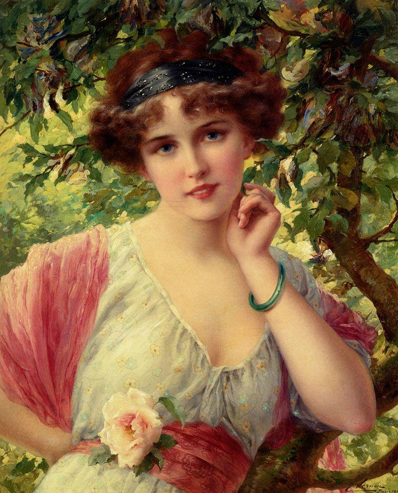 Emile Vernon, A Summer Rose[2]