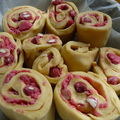 Chinois aux pralines roses maison