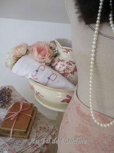 Vintage Romantic Roses 014L