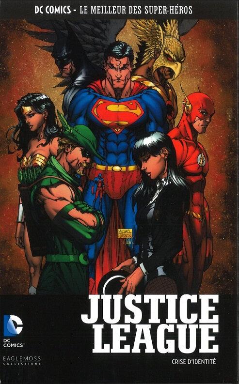 eaglemoss justice league crise d'identité