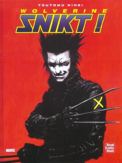 graphic novel wolverine snikt
