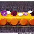 Fruits exotiques en gelee de mandarine