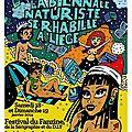En janvier, la biennale naturiste du fanzine se rhabille à liège !