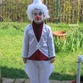 Vincent clown blanc