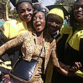Bien accueillis par notre amie Concilie KALOMBO