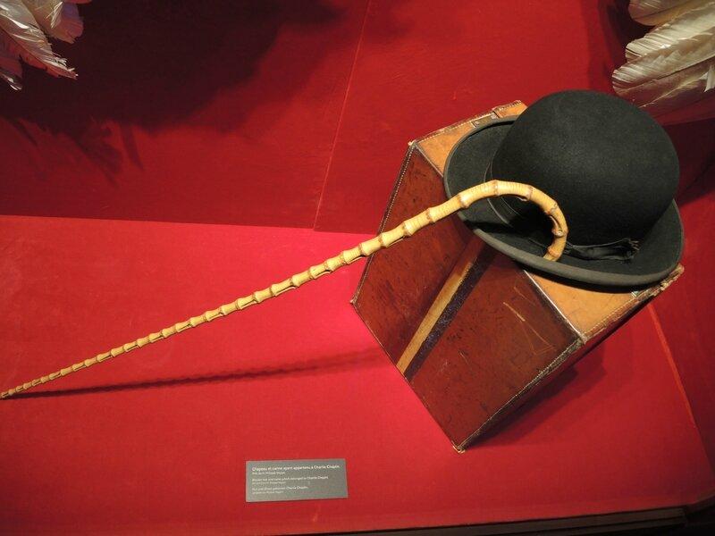 Corsier-sur-Vevey, Chaplin's world, maison musée, le bureau, melon et canne (Suisse)