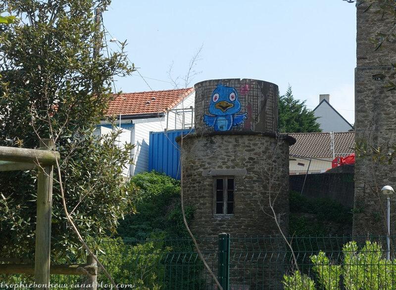 Port Ria piou bleu
