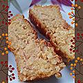 Moelleux chocolat orange à la polenta