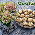 Cookies chorizo, noisette