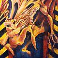 Acrylique sur papier - 1992 - 120 x 80