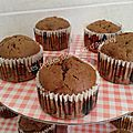 Muffins pomme-chocolat