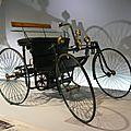 DAIMLER Motor Quadricycle Stahlradwagen 1889 Stuttgart (1)
