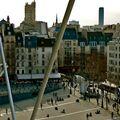 Depuis le sommet du Centre Pompidou.