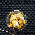 Glace mangue et coco sans sorbetière