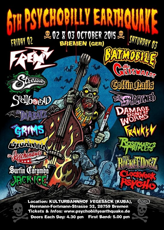 6th Psychobilly Earthquake