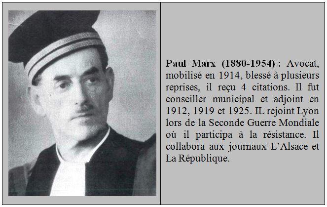 Pavé Paul Marx