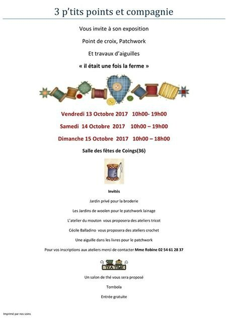 Exposition Coings 2017
