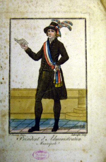 Le 12 novembre 1790 à Mamers : renouvellement de la municipalité, tirage au sort des élus sortants.