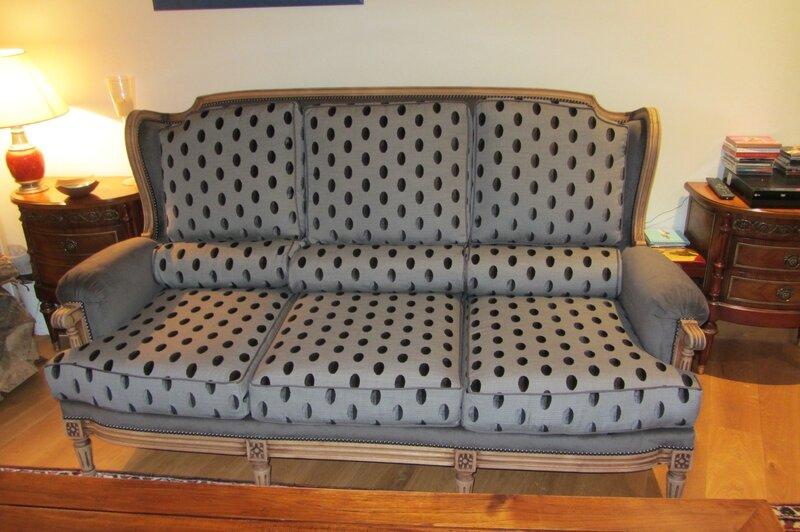 changer le tissu d'un canapé tapissier d'ameublement à Brest