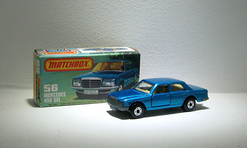 Mercedes 450 SEL (Matchbox)