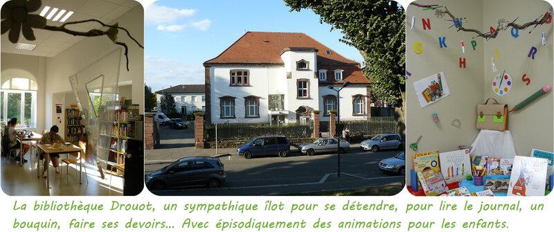 Quartier Drouot - Bibliothèque