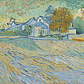 From the outside in: van gogh's vue de l'asile et de la chapelle de saint-rémy