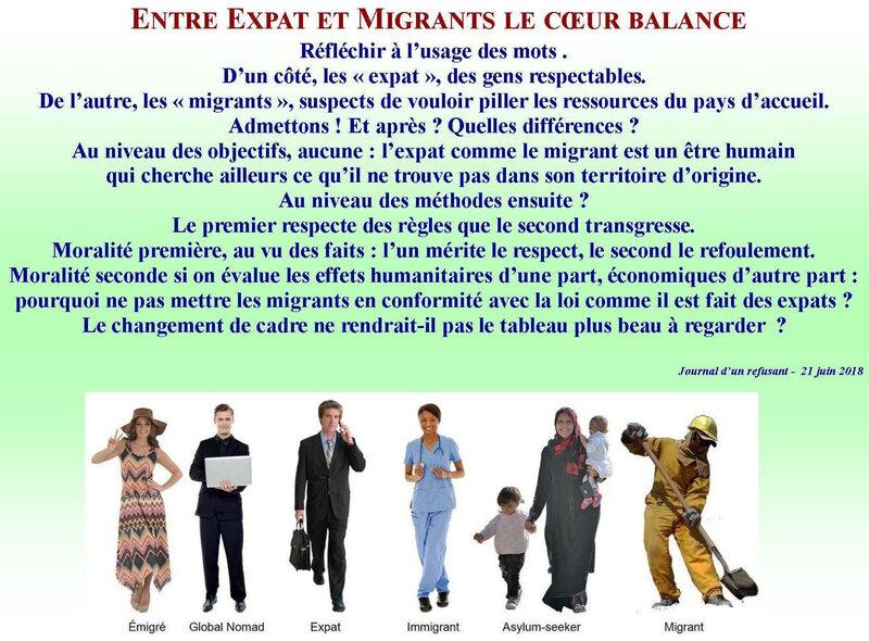 Expart et migrants