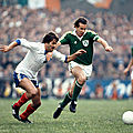 14 octobre 1981 IRLANDE-FRANCE ... MATCH QUALIFICATIF POUR ESPAÑA 82