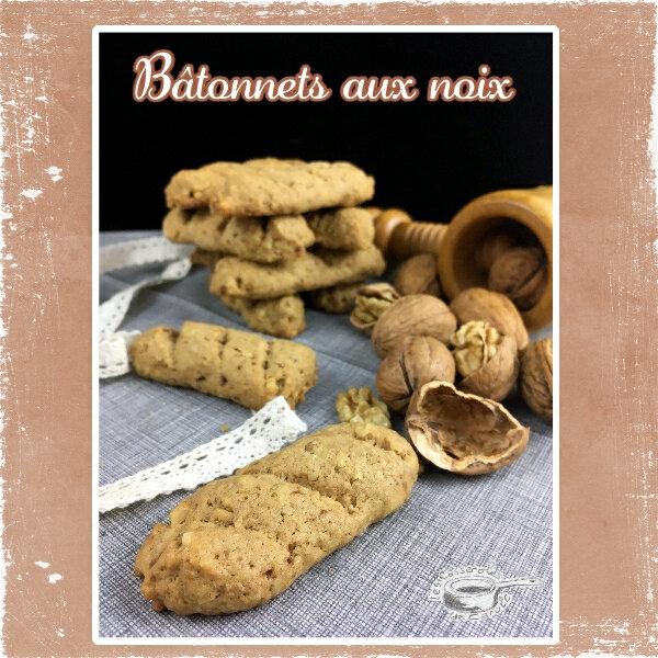 bâtonnets aux noix (SCRAP)