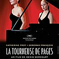 La tourneuse de pages - denis dercourt (2006) + bach, schubert & chostakovitch