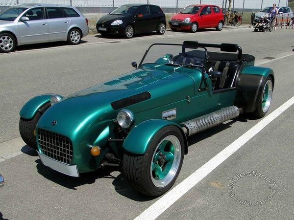 Lotus 7 replica, 3