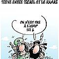 Trêve entre israël et le hamas