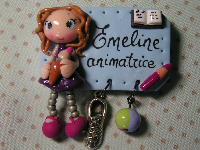 badge animatrice