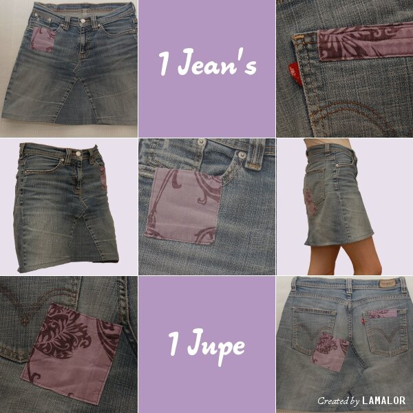 Recyclage Jeans #1